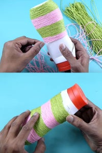 Let's Cover the Bottle Using Rope!