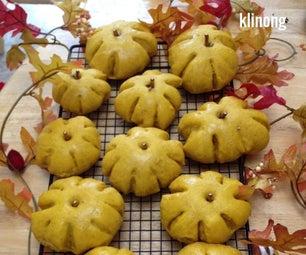 Pumpkin Patch Buns