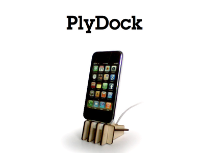 PlyDock: a DIY Dock for Your IPhone 3G / 3GS