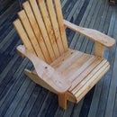 How to make a comfortable cape cod timber chair