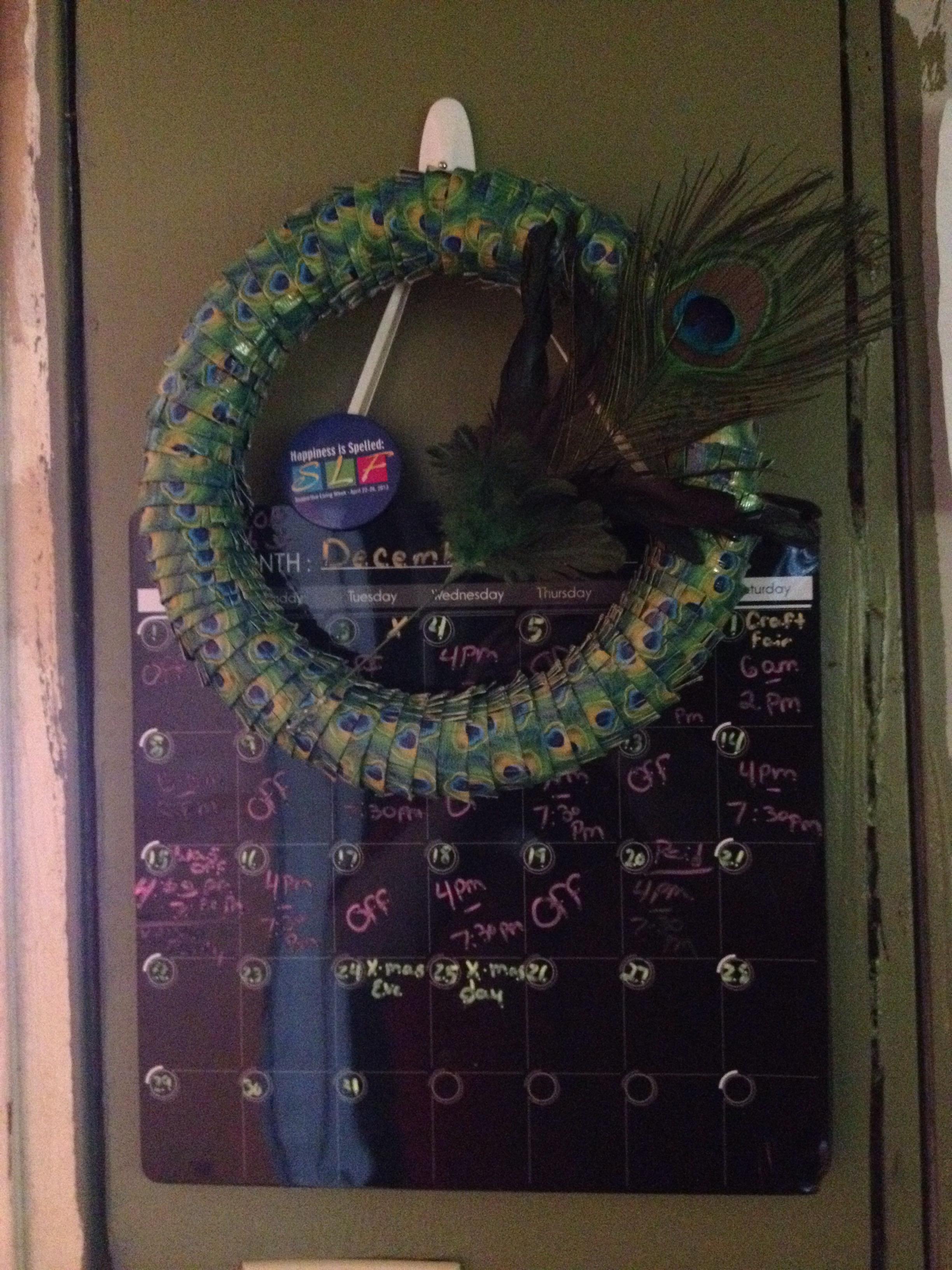 Duck Tape Wreath