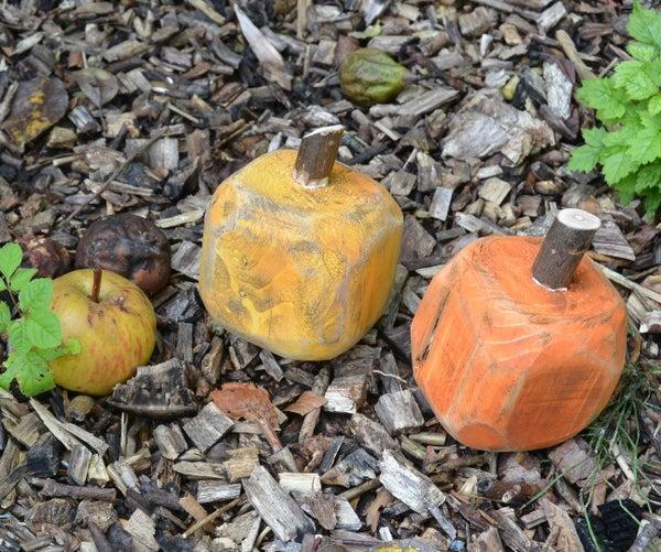 Pallet Block Pumpkins