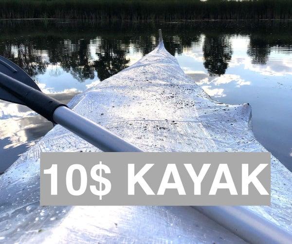 10$ Shrink Wrap Kayak