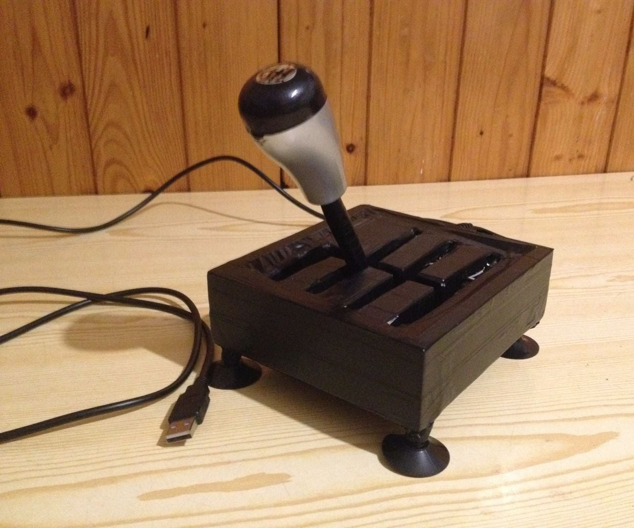 Gearbox For Computer Made From Old Joystick H Shifter 8 Steps Instructables