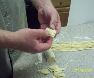 Easy Way to Cut Pasta