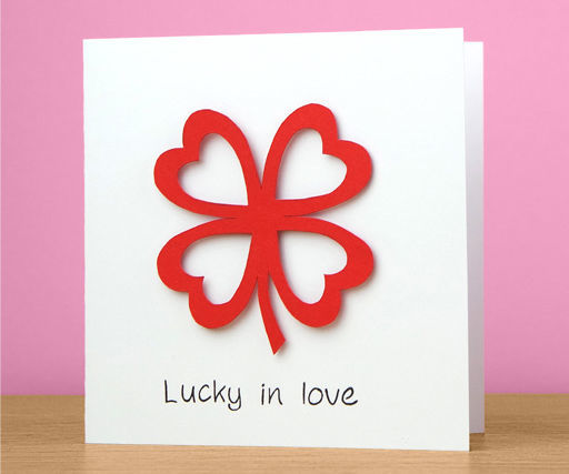 Love Clover Card Tutorial