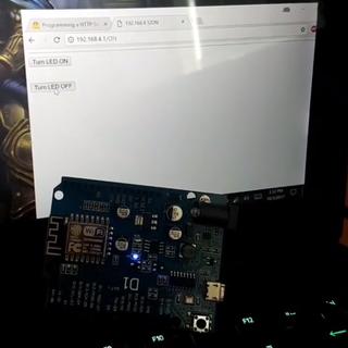 Programming a HTTP Server on ESP-8266-12E