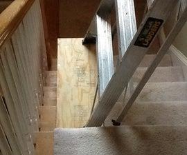 粉刷楼梯间