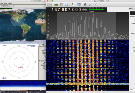 GQRX - Recording the Transmission