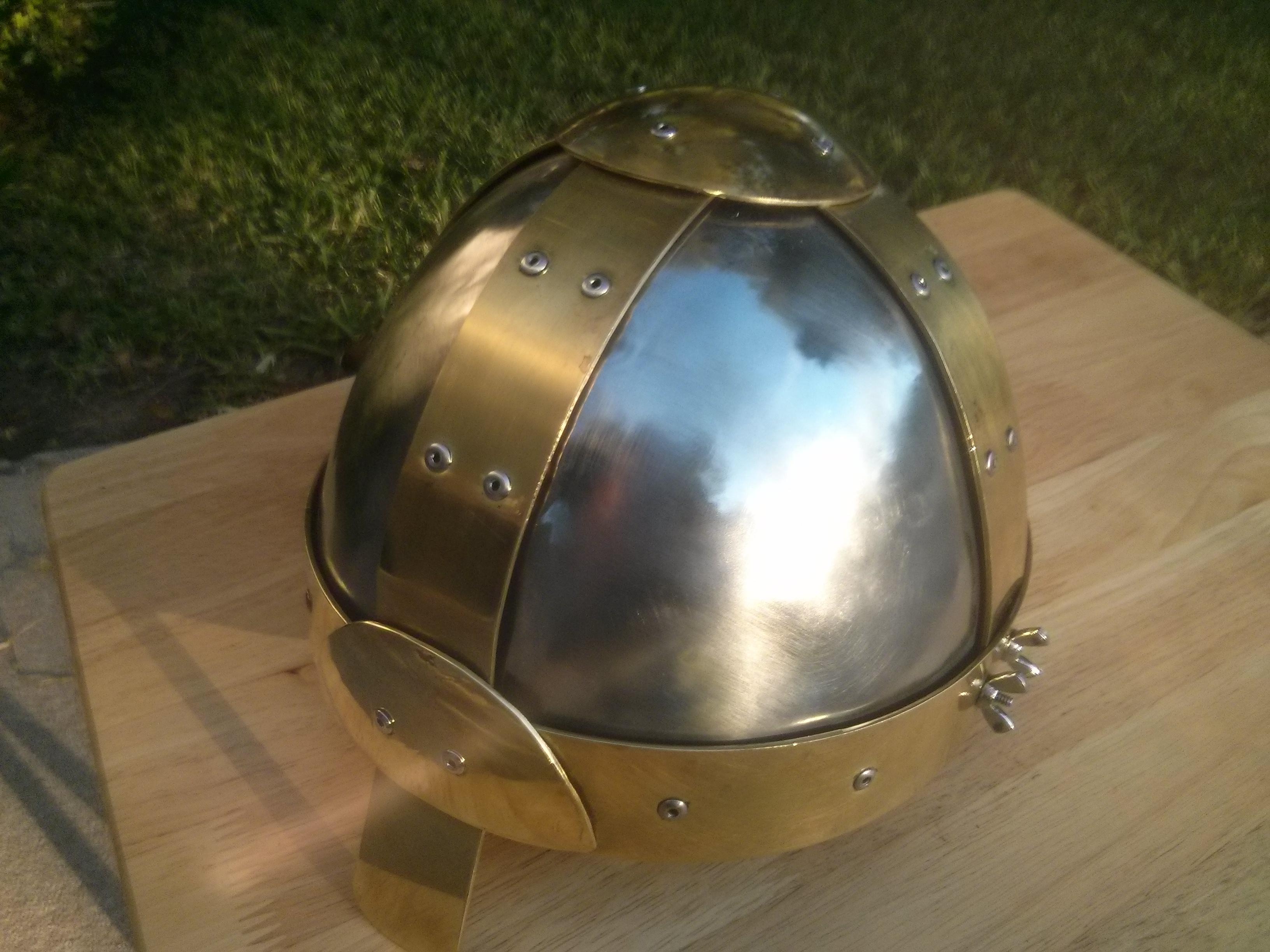 Basic Spangenhelm (Viking Helmet)