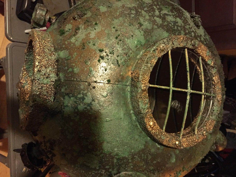 Helmet Details, Air Tank Details, & Other Final Touches