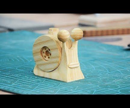 Make a Wooden Den Den Mushi From One Piece