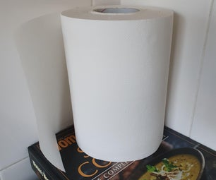 Kitchen Paper Towel Roll Dispenser From Aluminum Cans