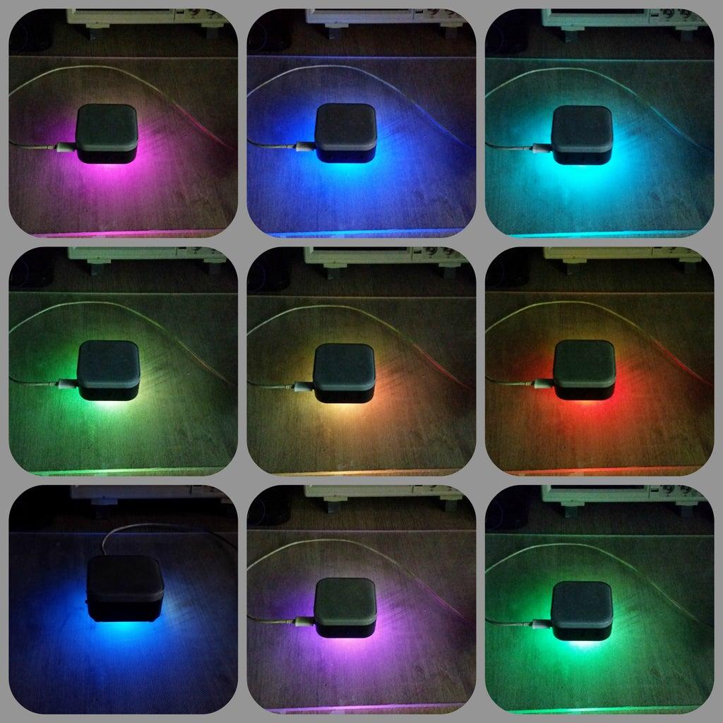 Tiny LED Matrix Display Clock