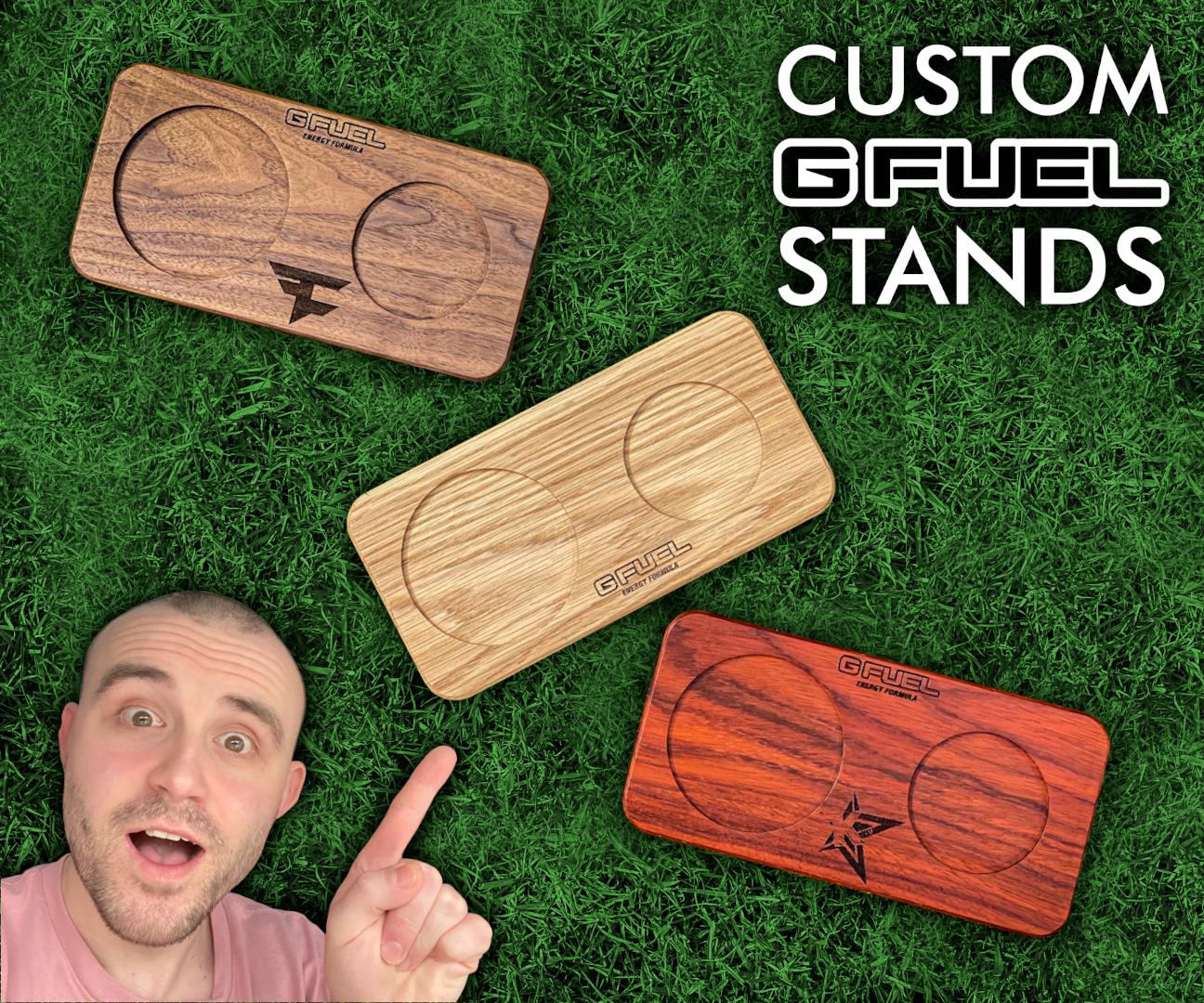 Making Custom GFuel Stands - Craft Fair Idea