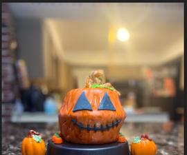 How to Make a Pumpkin Cake