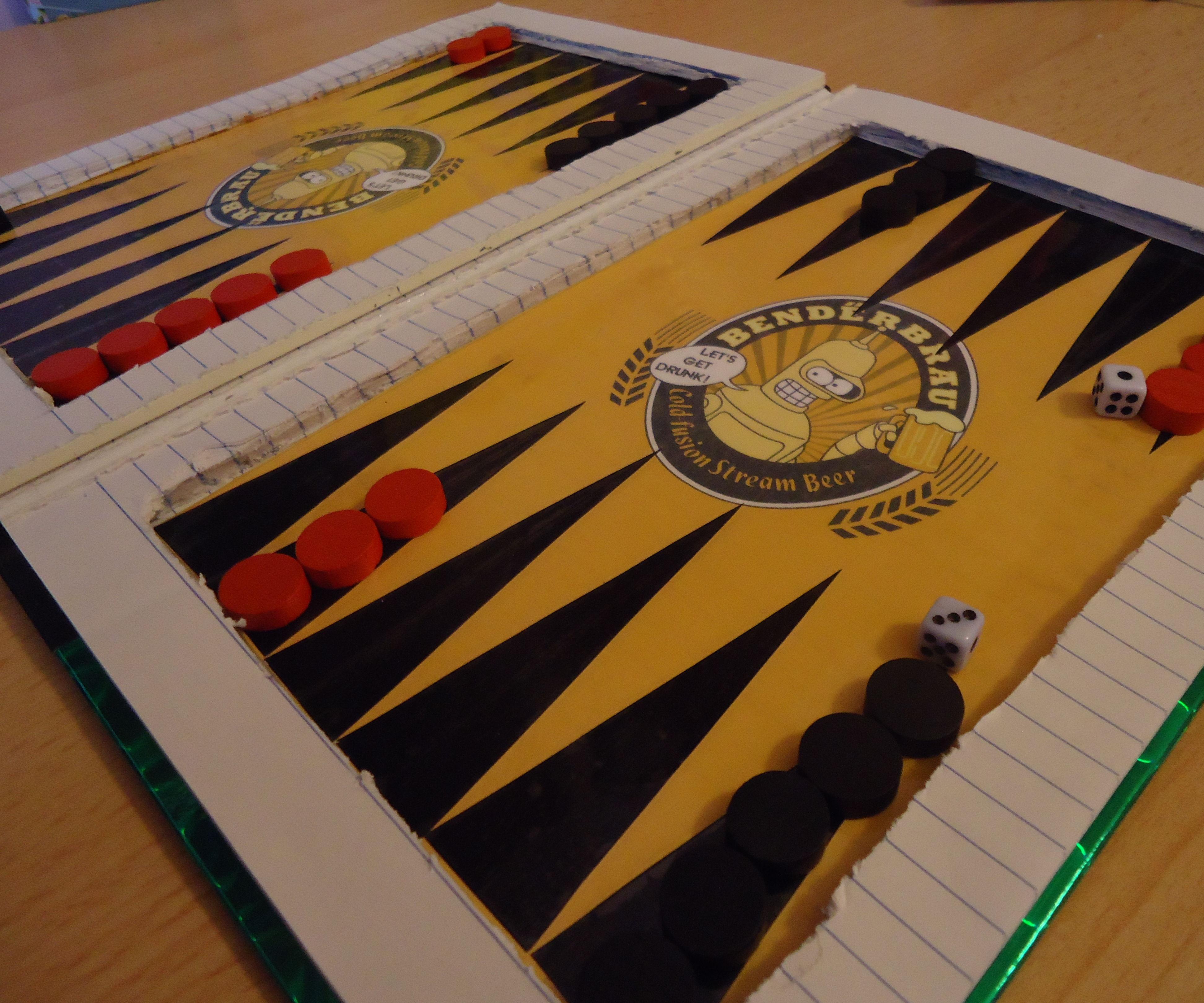Book Backgammon