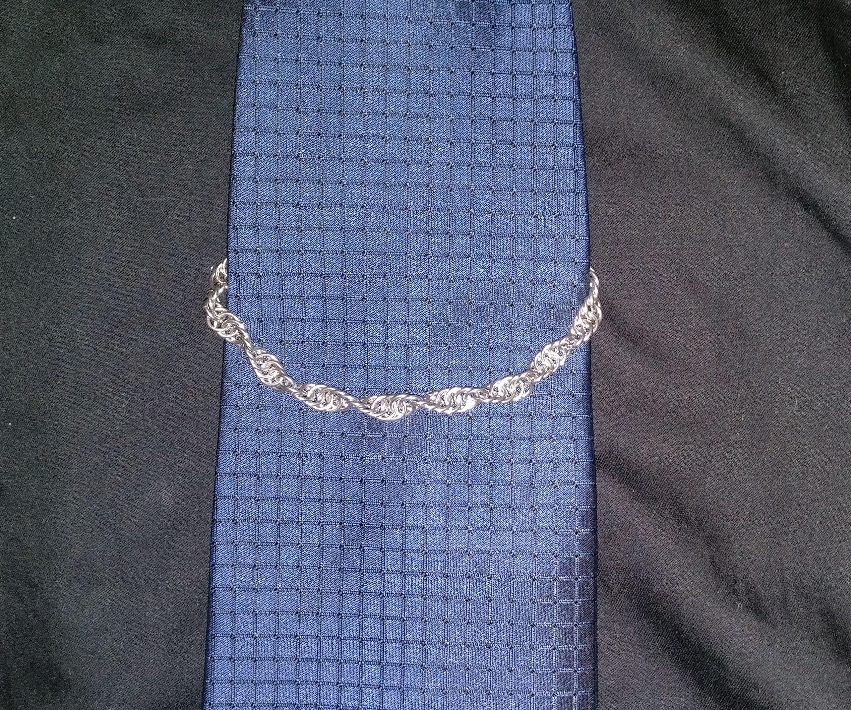 Silver Tie Chain