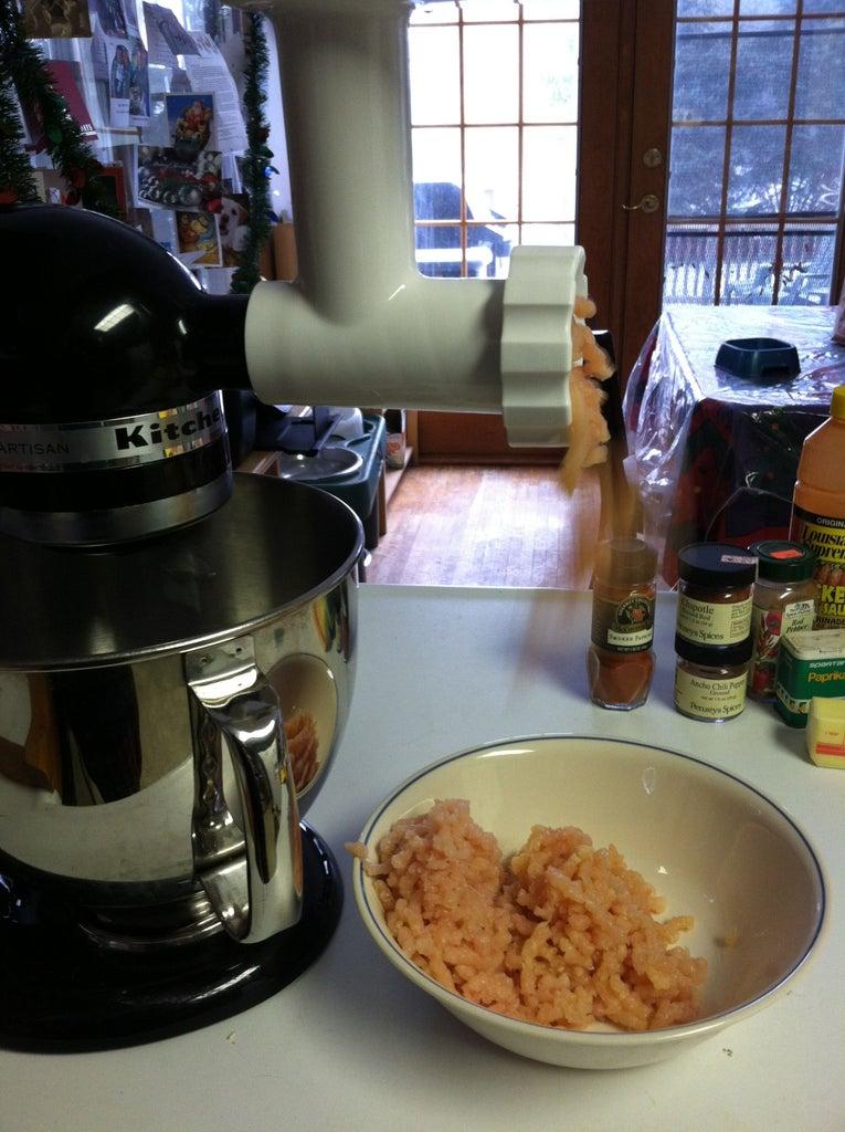 Prepare Chicken Meat