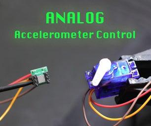 Analog Accelerometer Control of a Servo