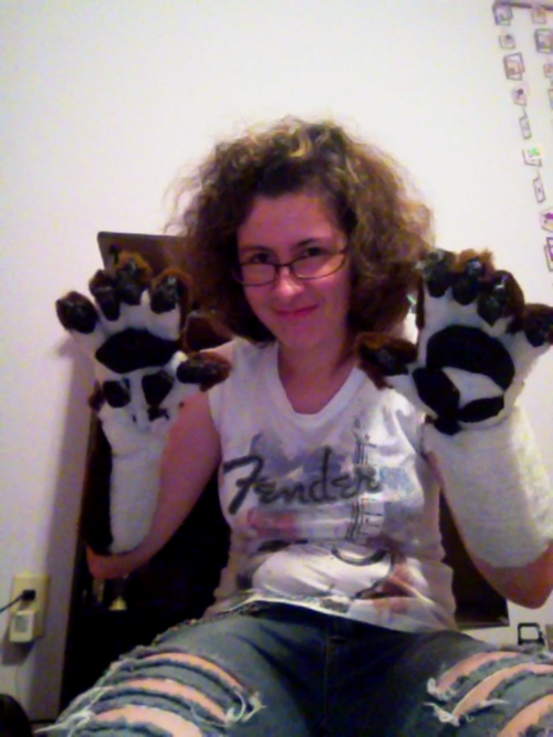 Werewolf Paws (Front)