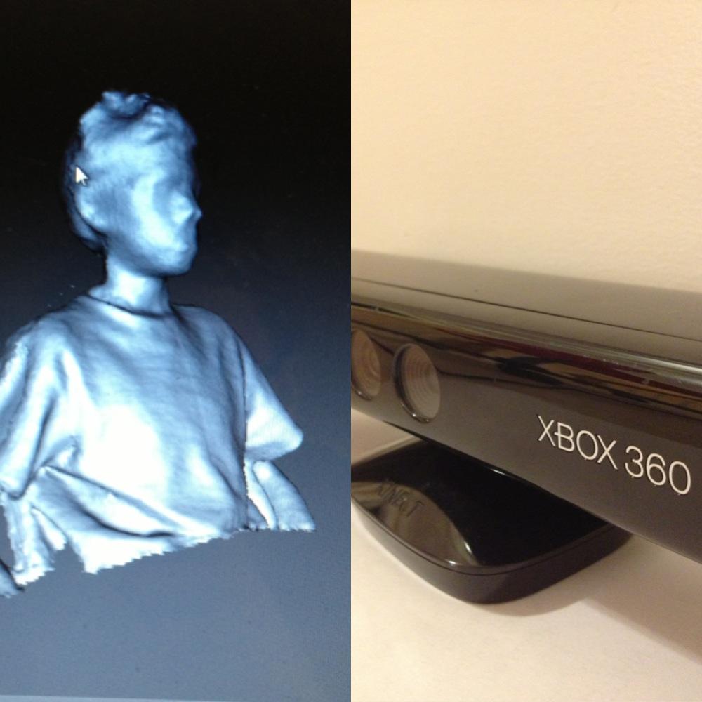 EASY Kinect 3D Scanner!
