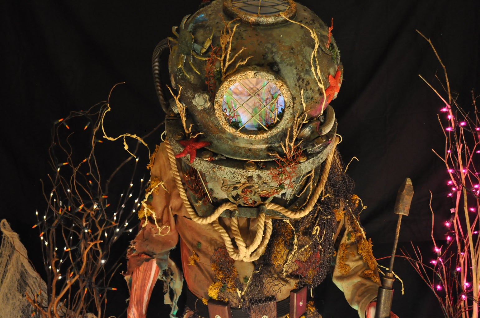 The Drowned Diver Costume (Halloween 2016)