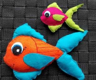 Felt Fishes