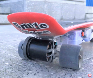 Turn Your Old Skateboard to an Electric Skateboard!