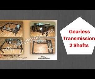 Gearless Transmission of 2 Shafts