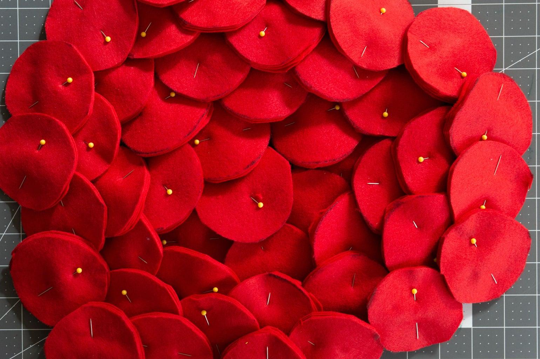 Cut Rose Circles