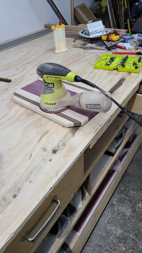 Step 10: Sanding
