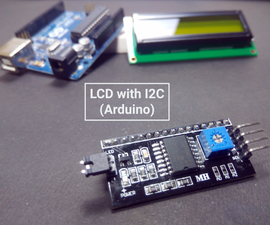 Use 16x2 LCD With I2C