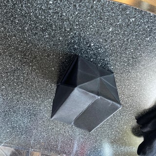 How to Make an Origami Single-sheet Cube