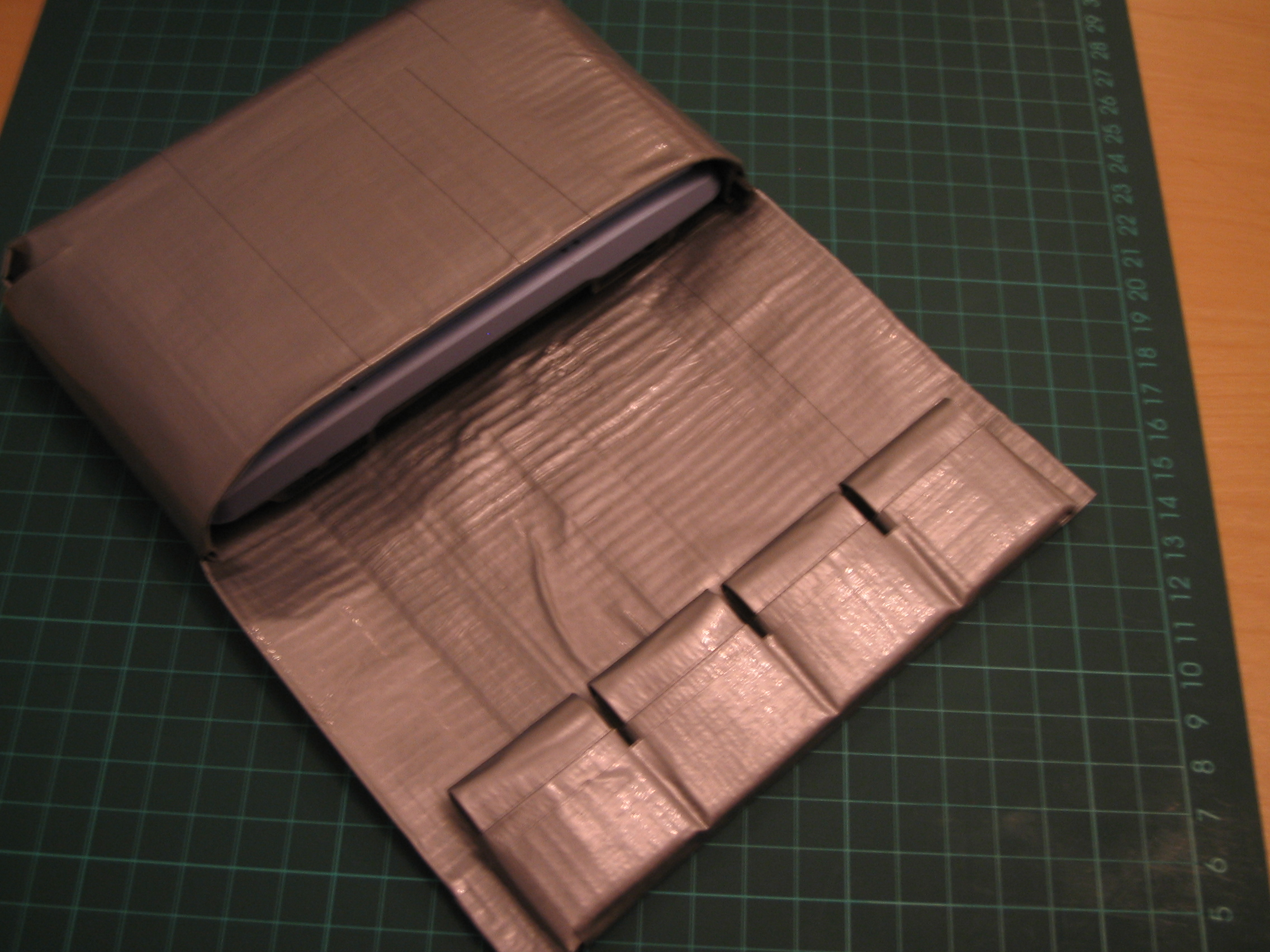 Duck Tape Nintendo DS (Phat) and games holder