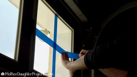 Prep Windows for Spray