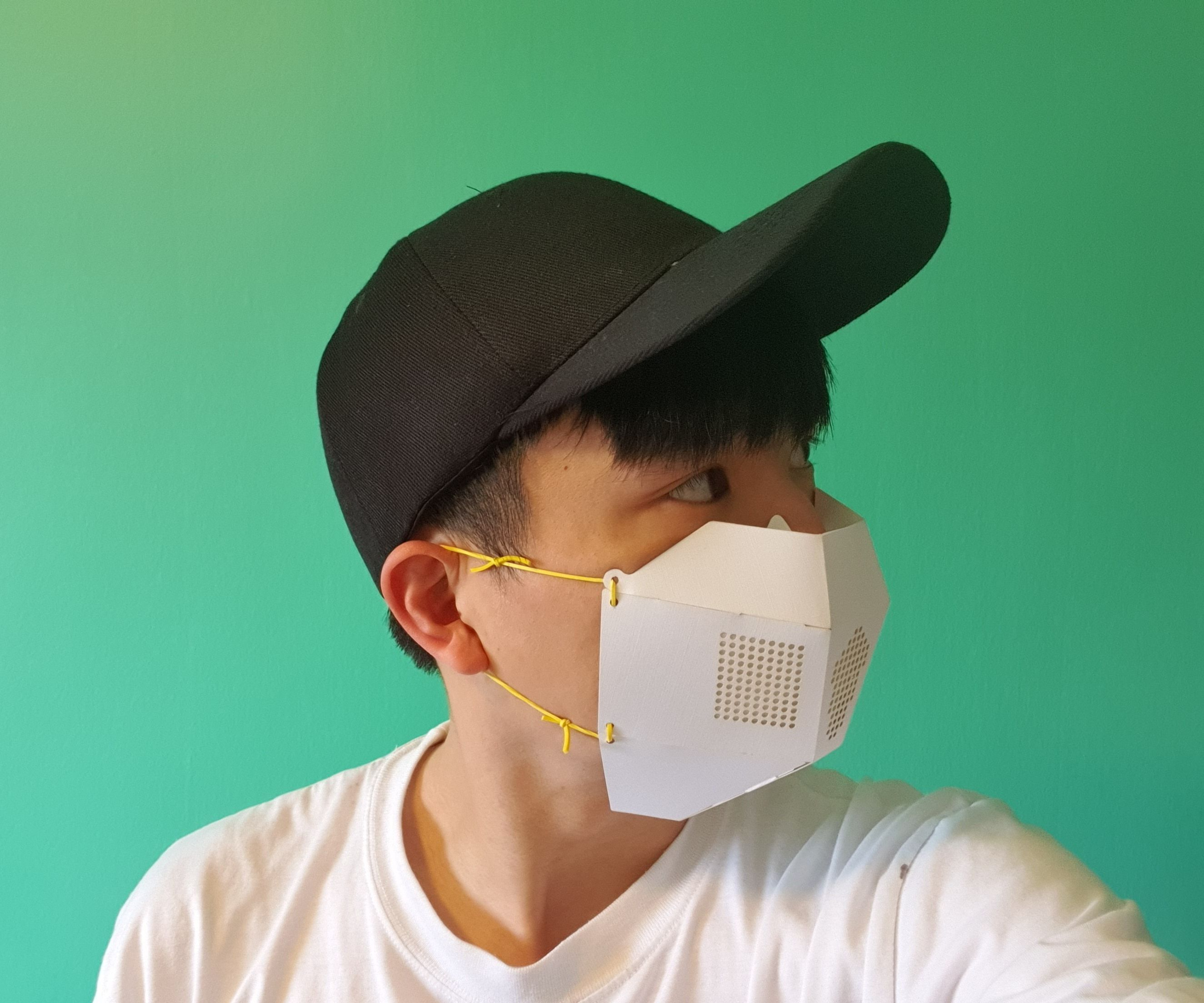 PaperMake: DIY Half-Face Mask for Everyone