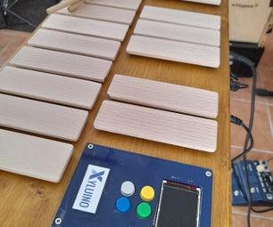 木琴- Arduino驱动的MIDI马林巴琴,木琴,钟琴