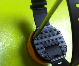 Change the Battery of an Suunto Octopus 2