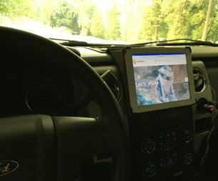 将旧iPad重新抛弃作为免提汽车助理