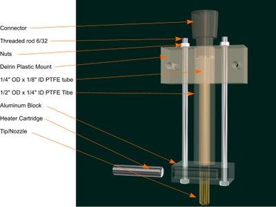 2BEIGH3 3D Printer Hot-End