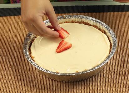 Add in the Fresh Strawberries