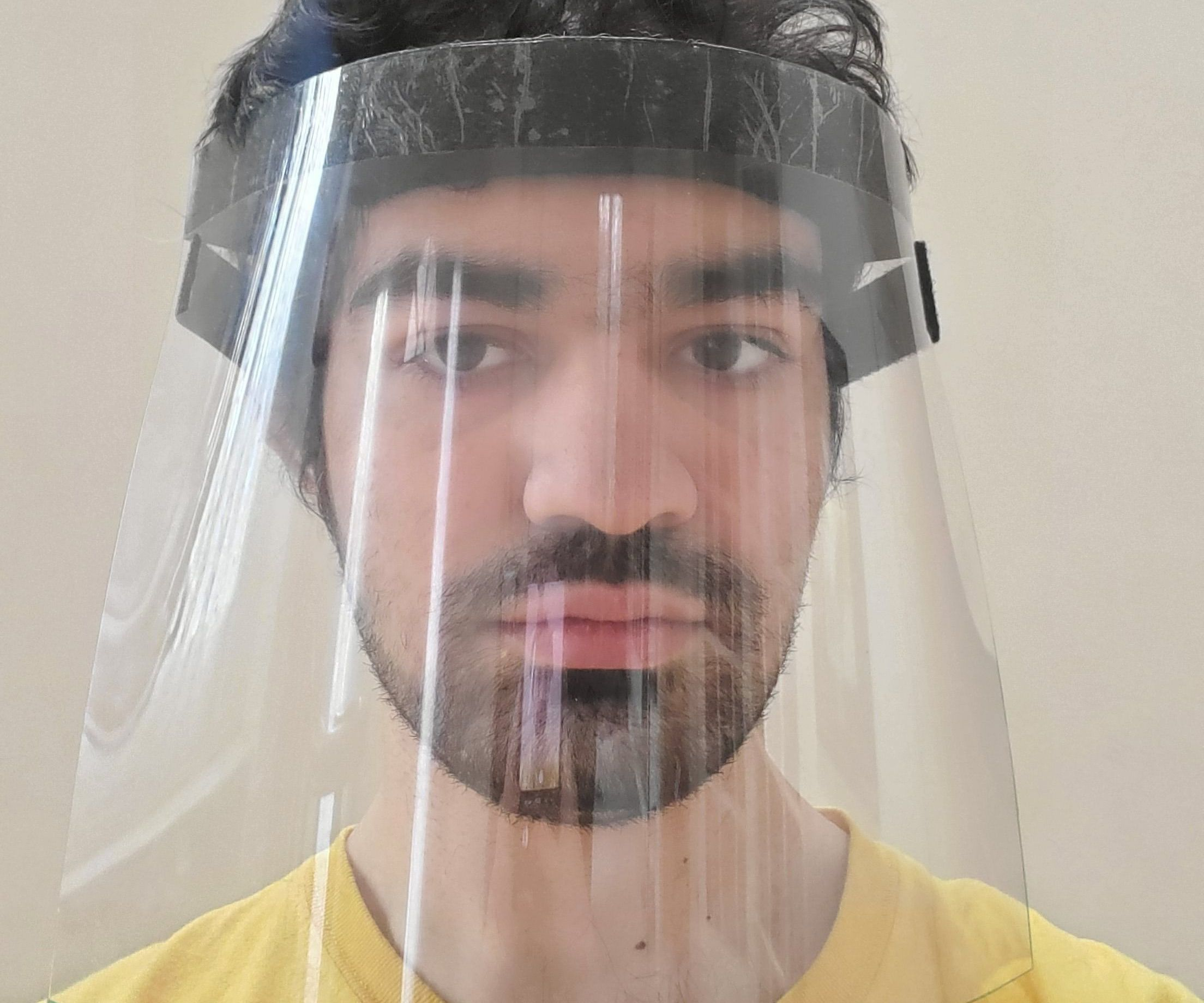 Easy-To-Make Face Shield: Fight COVID19!