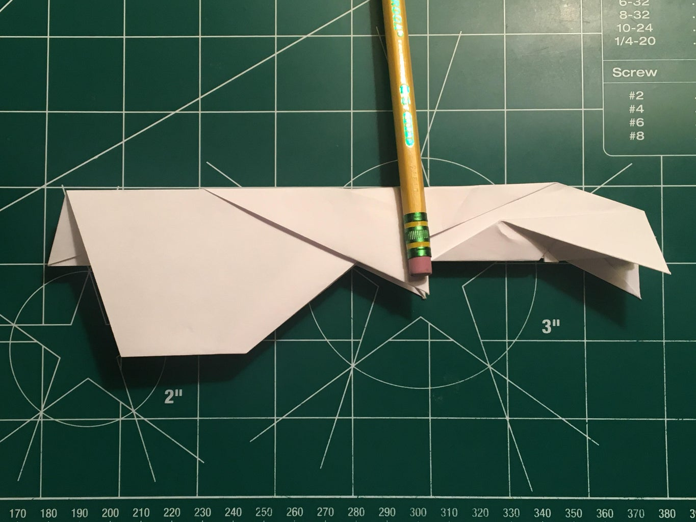 Wing and Tail Folding