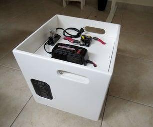 Quiet, Indoor 115 Volt A/C Generator