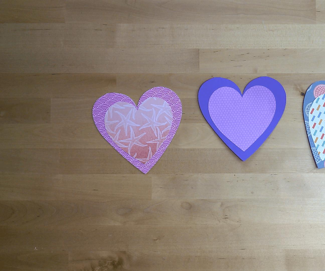 Heart Greeting Flip Card