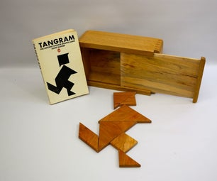 Tangram Puzzle and Gift Box