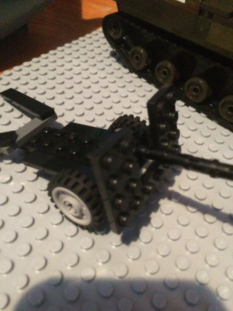 Lego Military Field Gun