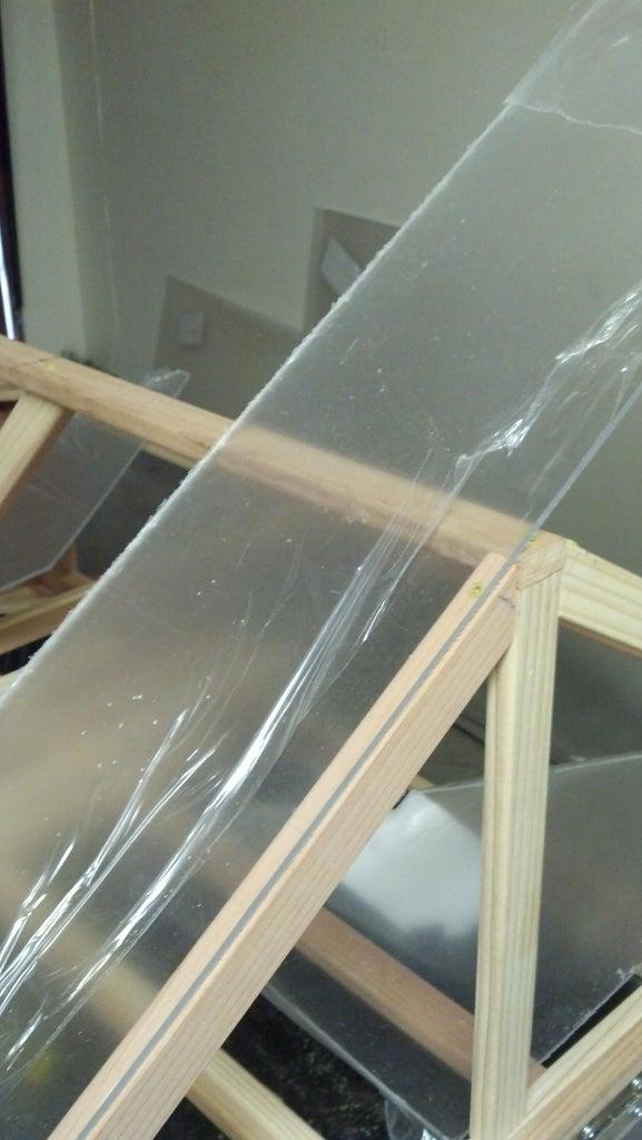 Cut and Install Plexiglas