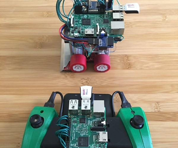 Mimicking PWM for the Raspberry Pi 2 Sumobot With LabVIEW